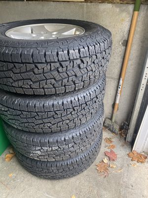 5 New Nexen Rodian Tires / w Jeep wheels for Sale in Lowell, MA