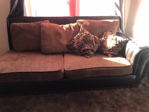 Big sectional couch for Sale in Hanford, CA
