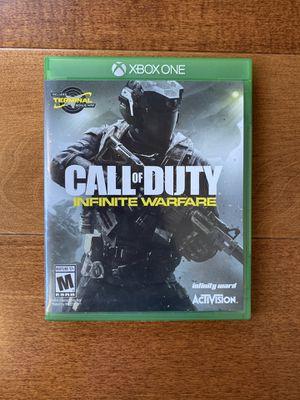 Call Of Duty Infinite Warfare Xbox One for Sale in El Segundo, CA