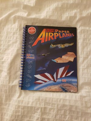Paper Airplane Instructional Book for Sale in Oakland Park, FL