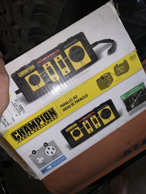 Champion power 50 amp parallel kit for 2800 watt inverter generators for Sale in Garden City, MI