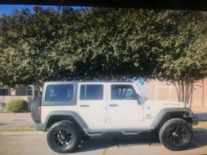 2015 Jeep Wrangler sport for Sale in Houston, TX