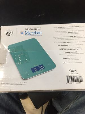 Ozeri Touch II 18 lbs Digital Kitchen Scale, with Microban® Antimicrobial Product Protection for Sale in Los Angeles, CA