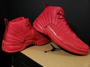 Jordan 12 suede red size 13 or all four shoes for 240 for Sale in Tampa, FL
