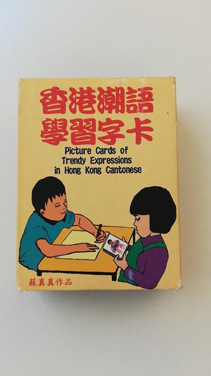 Picture Cards of Trendy Expressions in Hong Kong Cantonese for Sale in San Francisco, CA