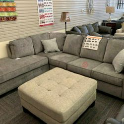 $39 down payment only / Altari Alloy Sectional RAF LAF Option 👉SAME DAY DELIVERY for Sale in Arlington,  VA