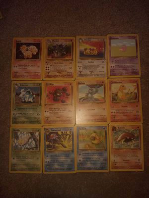 1999 Pokemon Base set cards lot 1 for Sale in South Hill, WA