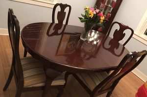 Cherry wood dining set for Sale in Pittsburgh, PA