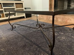 Solid iron coffee table for Sale in Peoria, AZ