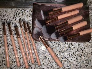 12 pcs makeup brushes for Sale in Santa Cruz, CA