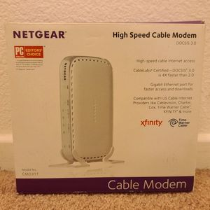 NETGEAR DOCS IS 3.0 CABLE MODEM CMD31T for Sale in San Diego, CA