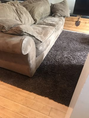 FREE Tan Microfiber sleeper sofa and sleeper loveseat for Sale in Washington, DC
