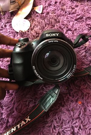 Sony H400 x63 Optical Zoom Camera for Sale in St. Petersburg, FL