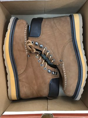 Oil & Slip Resistant Work Boots Size 6-9 for Sale in South Gate, CA