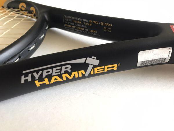Wilson hyper hammer 6.3 110sq Tennis Racket