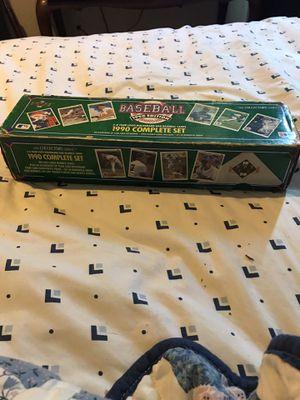 1990 upper deck baseball card set for Sale in Lakeland, FL