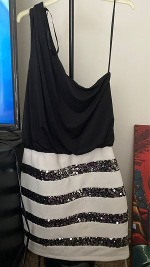 Small medium off the shoulder occasion dress for Sale in Orlando, FL