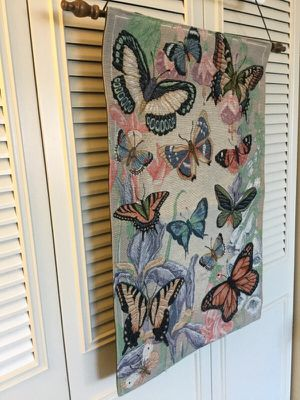 Home decoration / Butterflies needle point wall art for Sale in Alexandria, VA