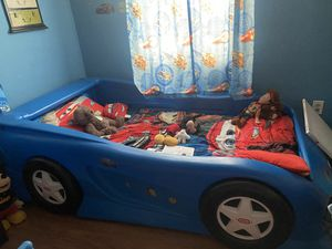 Kid car bed for Sale in Spring Hill, FL