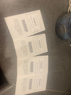 4 tickets to Jolly Roger water park for Sale in Denver, PA