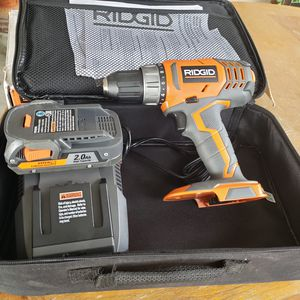 New Ridgid 18V Drill kit for Sale in Riverside, CA