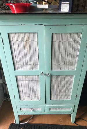 Antique china hutch for Sale in Seattle, WA