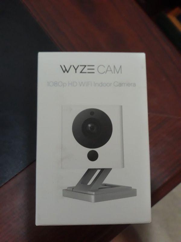 Wyze cam 1080p indoor wifi camera