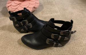 Report buckle black booties for Sale in Lynnwood, WA