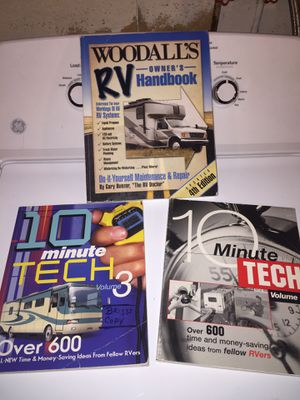 RV camper tech how to books for Sale in Peabody, MA