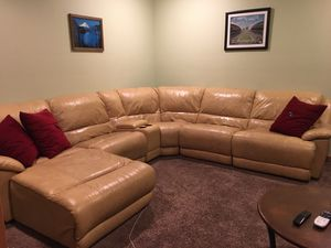 Leather sectional sofa for Sale in Olympia, WA