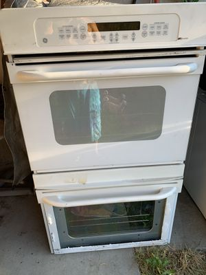 "Profile 27"" White Electric Double Wall Oven - Convection for Sale in Sacramento, CA"