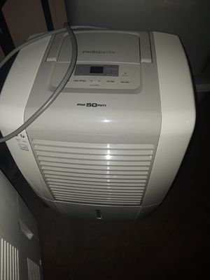 50 pint Frigidaire dehumidifier for Sale in Camp Hill, PA