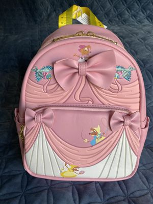 Loungefly Cinderella 70th Anniversary Pink Dress Mini Backpack NWT for Sale in San Diego, CA