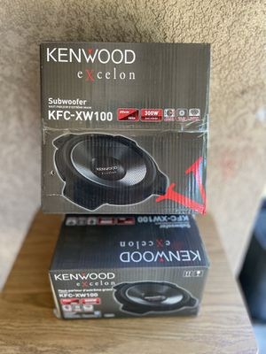 Kenwood Excelon subwoofers for Sale in Modesto, CA