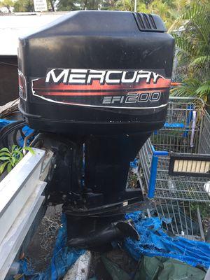 mercury efi 200 hp outboard for Sale in Loxahatchee, FL