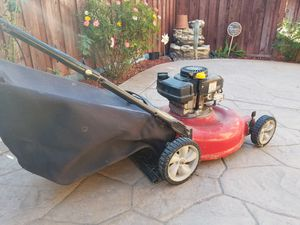 Gas Lawn Mower with Bag for Sale in Chula Vista, CA