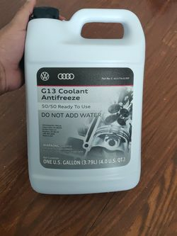 AUDI/VW G13 COOLANT 50/50 READY TO GO for Sale in Fairfax,  VA