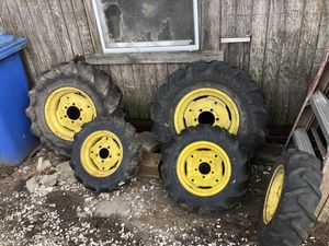 Mud tires for johndeere utility tractor for Sale in Bristol, RI