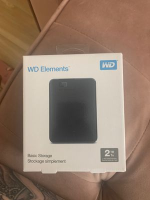 WD Elements 2tb basic storage for Sale in Portland, OR