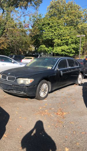 Bmw 745 for parts or project for Sale in Hamilton Township, NJ
