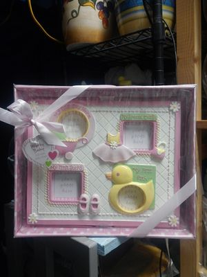 BABY GIRL PHOTO FRAME for Sale in Long Beach, CA