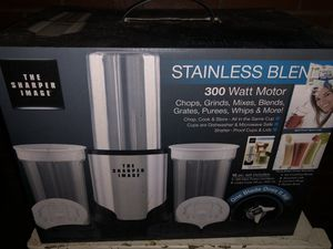 Stainless Blender (The Sharper Image) for Sale in Washington, DC