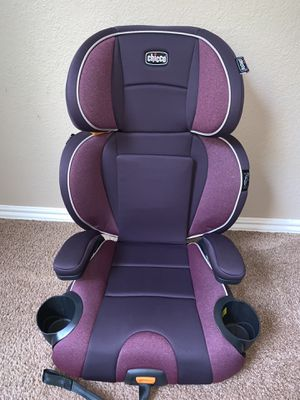 Used Chicco® KidFit 2-in-1 Booster Car Seat for Sale in Dallas, TX