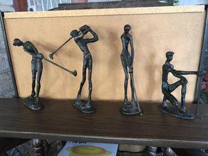 Bronze golfer statues for Sale in Phoenix, AZ
