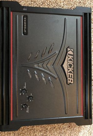 Kicker zx350.2 amp for Sale in Washington, DC