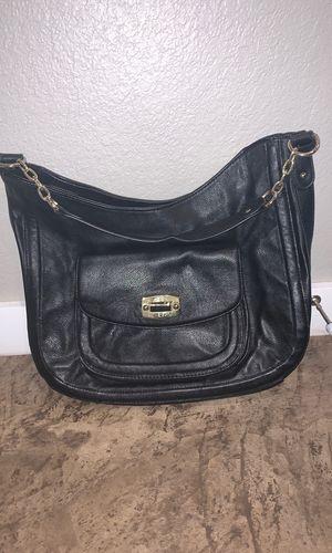 Leather black Merona purse for Sale in Tuscola, TX