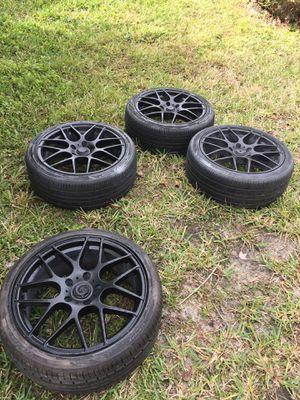 Black rims for Sale in Zephyrhills, FL