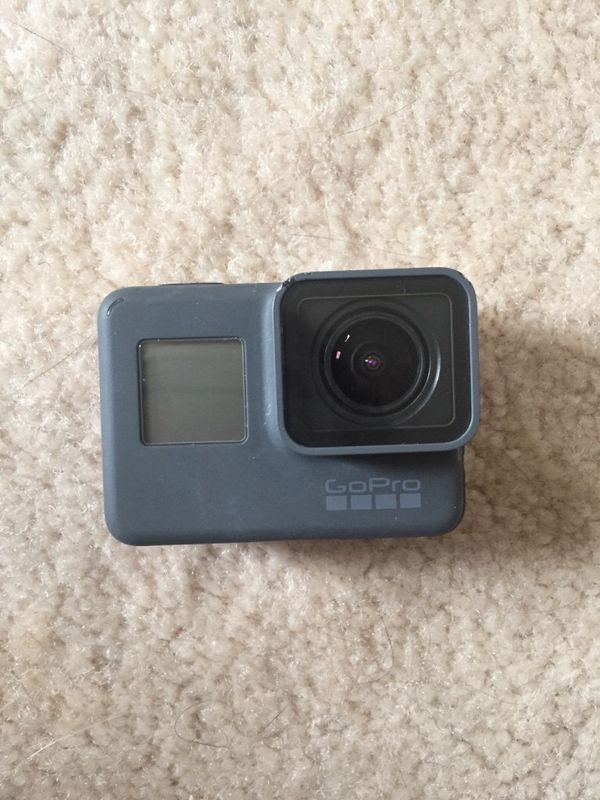 GoPro Hero 6 with accessories