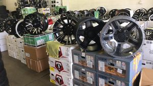 BRAND NEW 20 INCH OFF ROAD WHEELS FOR SALE STARTING PRICE $850 AND UP for Sale in Lakewood, WA