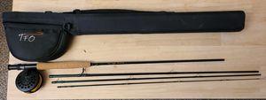 NXT series lefty kreh, NXT series 1 reel fly fishing rod and case for Sale in Las Vegas, NV